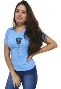 Camiseta Cellos Rose Premium Feminina - Feminino