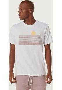 Camiseta Masculina Manga Curta Com Estampa