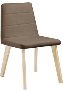 Cadeira Caju F58-1 Veludo – Daf Mobiliário - Fendy