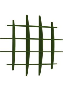 Prateleira Decorativa Grande Taylor 595 Verde Musgo - Maxima