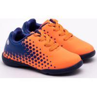 261f6aaf62 Chuteira Futsal Ortopé Infantil S-Control Laranja 23