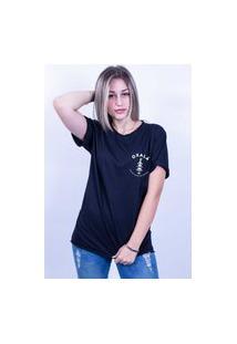 Camiseta Corte A Fio Bilhan Oxalá Preta