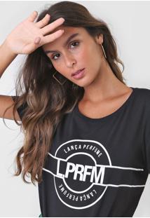 Camiseta Lança Perfume Amarração Preta