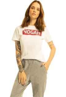 T-Shirt Nogah Box Branca - Kanui