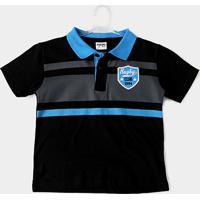 f4577edbd1 Camisa Polo Infantil Fakini Kids Logo Bordado Masculino - Masculino