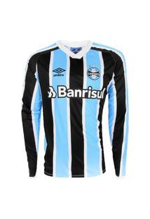 Camisa Umbro Grêmio Oficial I 2021 (Classic) Masculina