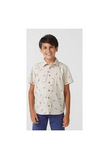 Camisa Infantil Menino Em Tricoline