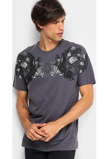 Camiseta Mcd Especial The Birds 3 Masculina - Masculino-Grafite a5ab8ca73fa