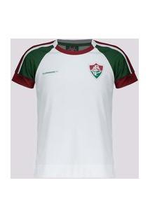 Camisa Fluminense Cell Infantil Branca