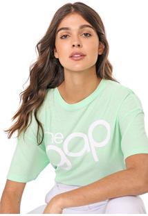 Camiseta Gap Lettering Verde - Kanui