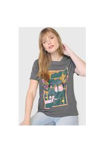 Camiseta Oh, Boy! Muse Forest Grafite