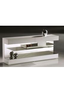 Aparador Apple Laca Branco Brilhante Com Espelho - 22395 - Sun House