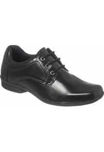 Sapato Social Infantil Classic Redmax B926 - Masculino-Preto