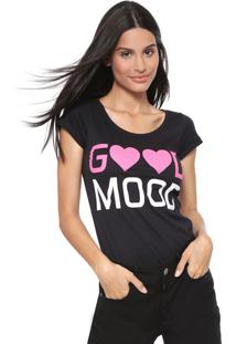 Camiseta Fiveblu Lettering Preta