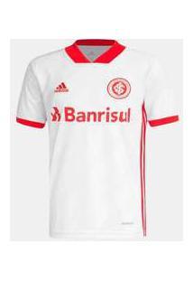 Camisa Adidas Internacional 2020 Ii Torcedor S/N 3 Branco
