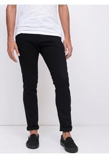 Calça Skinny Em Jeans Black