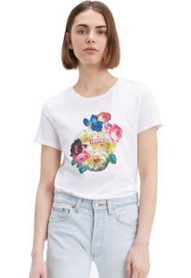 Camiseta Levis The Perfect 50395 Branca