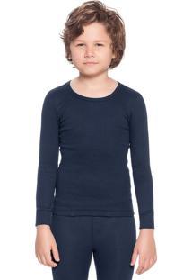 Camiseta Robert Manga Longa Infantil