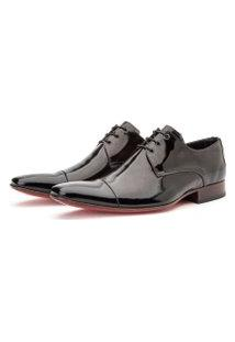Sapato Social Masculino Bico Fino Italiano Premium Confort