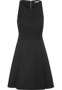 Vestido Alessandra Tweed - Preto