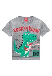 Camiseta Pijama Infantil Menino Kyly Mescla
