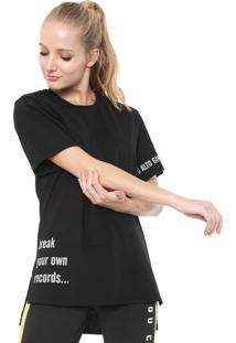 Camiseta Alto Giro Ceramic Abertura Lateral Preta