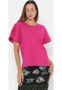 Camiseta Lisa- Pink- Colccicolcci
