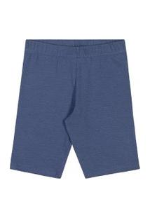 Bermuda Lecimar Tween Em Cotton Alto Veráo Jeans