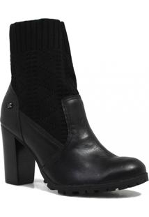 001ec964f1 Bota Cravo E Canela Ankle Boot Salto Feminina - Feminino