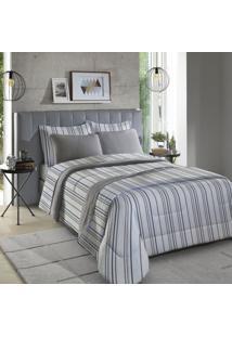 Fronha Para Travesseiro Inovare 1 Peça Sirius E Cinza - Sbx Têxtil