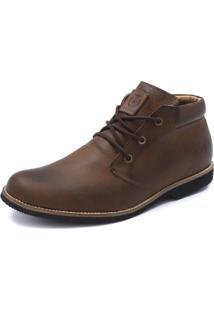 Bota Casual Masculina Shoes Grand Casual 01100/0 Taupe - Kanui