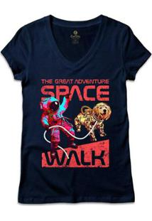 Camiseta Cool Tees Gola V Geek Feminina - Feminino