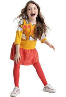 Vestido Amarelo Menina