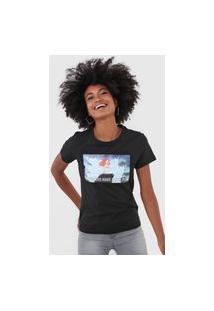 Camiseta Only Ariel Preta