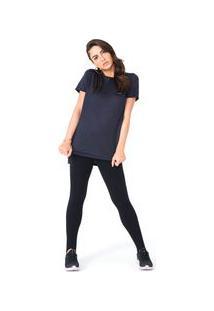 Camiseta Long Olympikus Feminina