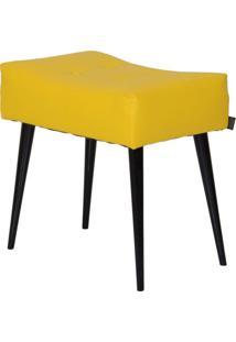 Puff Dani Pé Palito Amarelo E Preto