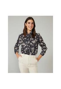 Amaro Feminino Camisa Folk Tie, Margarete