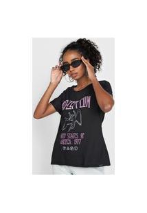 Camiseta Enfim Led Zeppelin Preta