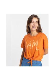 Camiseta Gam 485012 Gam Laranja