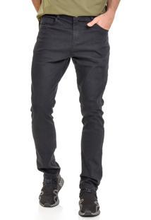 Calça Jeans América Do Sul Slim Fit Preta Masculina