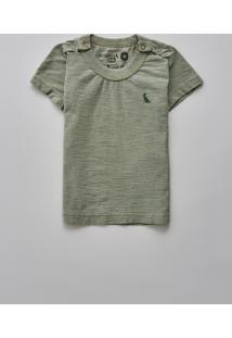Camiseta Bb Liso Reserva Mini Verde - Kanui