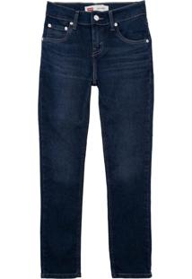 Calã§A Jeans Levis 510 Skinny Infantil - Masculino - Azul - Menino - Dafiti