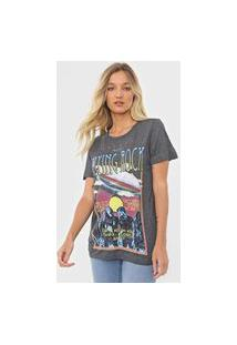 Camiseta Colcci Flying Rock Cinza