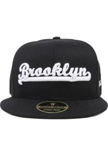 Boné Skill Head Snapback Brooklyn Preto e45bd05f871