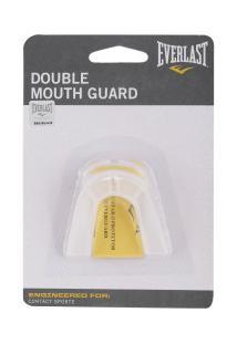 Protetor Bucal Everlast Double 4410 - Adulto - Transparente