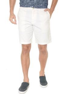 Bermuda Banana Republic Chino Slim Stretch-Cotton Off-White