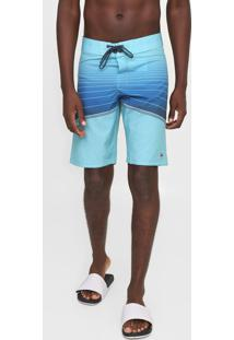 Bermuda Água Billabong Reta North Point Pro 20 Azul