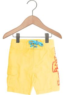 Bermuda Tigor T. Tigre Menino Amarelo