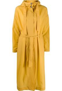 Herno Hooded Parka Coat - Amarelo
