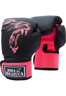 b2024ba168 Luva Boxe Muaythai - Mma Brazuca - Pink ir para a loja
